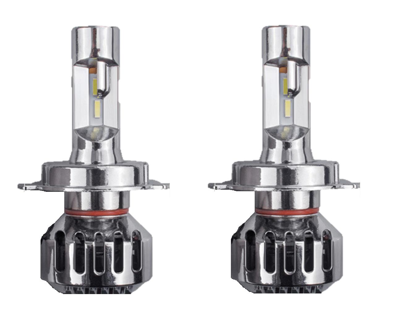 Luces Led H4 de 8.000 Lumens - Cambio de luces